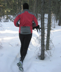 Getting in shape is a popular New Year's Resolution. Photo courtesy of Jennoit.