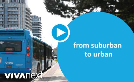 suburban to urban